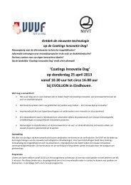 Download versie Uitnodiging - VVVF