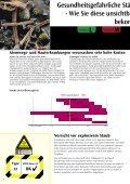 Familienbroschüre mit technischen Daten für Sicherheitssauger. - Seite 4