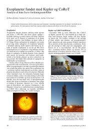 Exoplaneter fundet med Kepler og CoRoT - Kvant