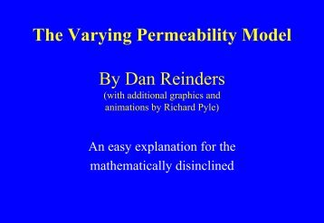 The Varying Permeability Model for dummies - yeapa.com