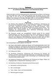 S a t z u n g über die Erhebung von Beiträgen nach § 6 des Nds ...