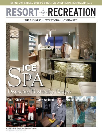 Distinctive Hospitality Designs - Resort + Recreation Magazine