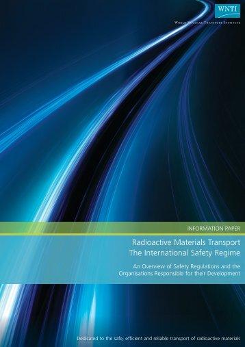 Radioactive Materials Transport The International Safety Regime