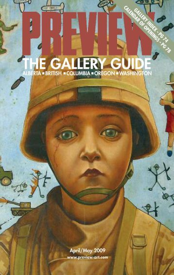 Preview of the Visual Arts | April–May 2009