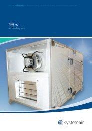 Original TIME ec brochure - Systemair