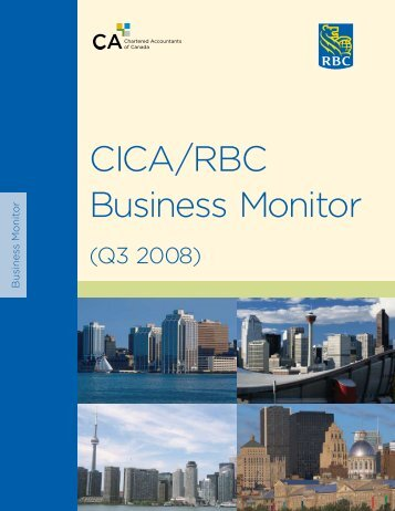 CICA/RBC Business Monitor - Canadian Institute of Chartered ...