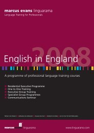 English in England - Linguarama