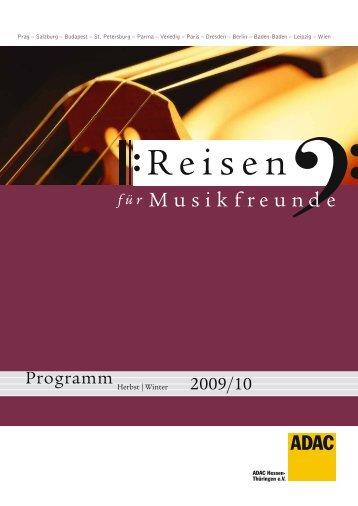 Programm - Rheingau Musik Festival