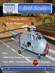 40 th Edition - DH Scale Modeler's Club