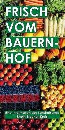 FRISCH VOM BAUERN- HOF - Rhein-Neckar-Kreis