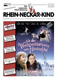 Kinderkalender - Rhein-Neckar-Kind
