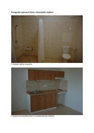 Fotografie vybavení Domu chráněného bydlení