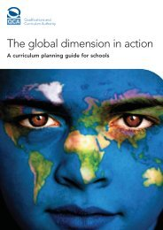 The global dimension in action: a curriculum ... - ESD in the UK