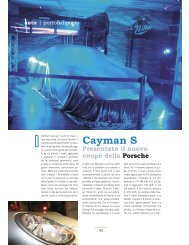 Cayman S - Porto & diporto
