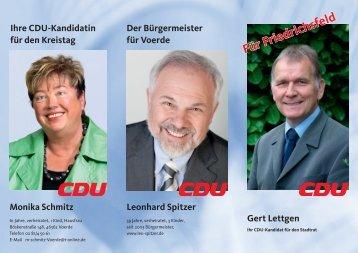 Link zum Kandidatenflyer - der CDU Voerde