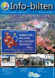 Aktivnosti i projekti u 2009. godini Zenica, januar 2010. - Superinfo