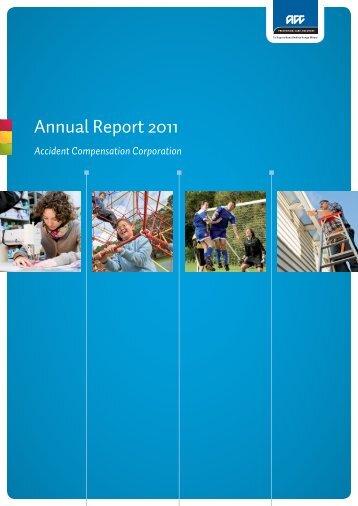 Annual Report 2011 (PDF 3.0M) - ACC
