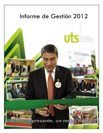 plan de accion institucional 2012 - Unidades Tecnológicas de ...