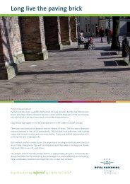 Inspire Insert Straatbakstenen UK.indd - Royal Haskoning