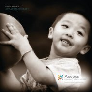 Annual Report 2013 July 1, 2012 to June 30, 2013 - Access ...