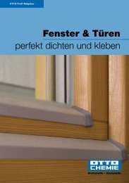 Fenster & Türen perfekt dichten und kleben - Northe