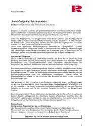 Rhomberg baut das neue AMS-Gebäude - Rhomberg Bau GmbH