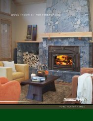WOOD INsERts FOR FIREPlACEs - Maine Coast Stove & Chimney
