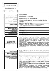 informazioni personali - Azienda Ospedaliera Santi Antonio e Biagio ...