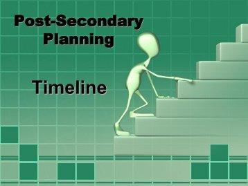 Post-Secondary Planning - Jackson Memorial High School
