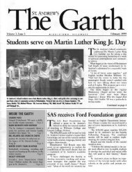 Students serve on Martin Luther King Jr. Day - Saint Andrew's ...