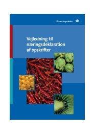 Vejledning til næringsdeklaration af opskrifter - Noeglehullet.dk