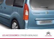 LES ACCESSOIRES CITROËN BERLINGO - Groupe Dallard