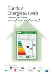 Bündnis Energieausweis - Bau