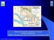 Realizovani programi remedijacije na prostoru Južne industrijske ...