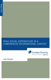 Irish Social Expenditure in a Comparative International Context ...