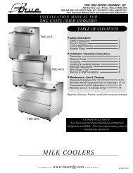 MILK English Manual.indd - MyChefStore.com