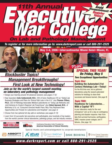 2006 - Executive War College