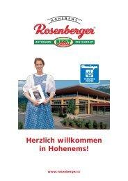 Herzlich willkommen in Hohenems!