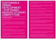 IFHP RANkO RADOvIC STUDENT COMPETITION - UiD