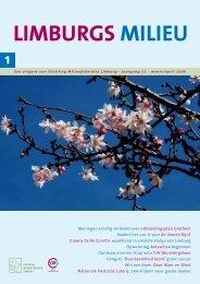 Limburgs Milieu nr. 1 2009 - Milieufederatie Limburg