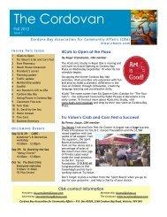 Cordovan FALL 2012 - Cordova Bay Association for Community Affairs
