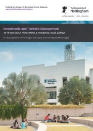 Investments and Portfolio Management - The University of ...