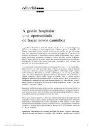A gestão hospitalar: uma oportunidade de traçar novos caminhos