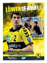 (Saison 2011/2012): SG Flensburg-Handewitt - Rhein-Neckar Löwen