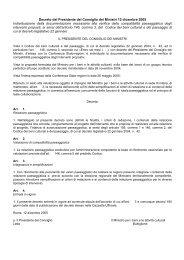 Relazione paesaggistica - Parco Regionale dei Colli Euganei