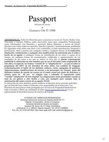 Passport - Gustavo Ott