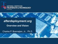 Web-based Wellness: afterdeployment.org - National Center for ...