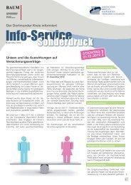 Info-Service Sonderdruck 2012 - Dr. Markus Baum ...
