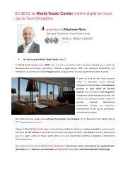 4 questions à Stéphane Quin, Directeur du World Trade ... - Aderly