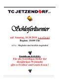 Ebenfalls am 10.10.2010 - TC Jetzendorf - Seite 2
